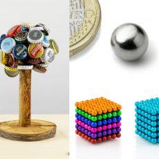 Větší magnetické kuličky z neodymu – vyrobte si držák sponek i zátek